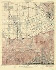 Topographical Map Print - Burbank California - USGS 1926 - 23 x 28.56