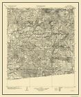 Topographical Map Print - Cuyamaca California Quad - USGS 1903 - 23 x 27.5