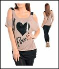 Janette New Ladies Top -  Open Shoulders - Size 10 - 12 - 14 Tan Colour