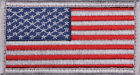US Flag Tactical Patch American USA Hook & Loop Army Military Uniform