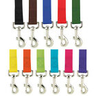 Nylon Dog Leash Zack  Zoey USA Seller 11 Colors 3 Sizes Durable Puppy Lead