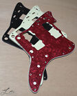 Luluthier Reissue Fender Jazzmaster Pickguard (RED PEARL, 1ply BLACK, MINT GREEN