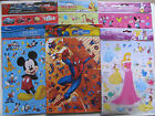 Disney Stickers Labels Pack Novelty Various Large Small Kids Children Fun Play