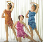 Earth Wind Contemporary Lyrical Dance Ballet Costume Adult Sizes