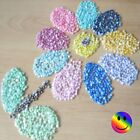 200 x 4mm  Acrylic Flat Back Half Round 3D Pearls Suitable For Craft & Nail Art