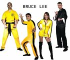 Внешний вид - PICK Adult Martial Arts Bruce Lee Jumpsuit Mini Dress Karate Gi Kung Fu Costume