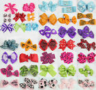 Girls Baby Toddle infant Hair Bow Clip Leopard flower hairpin Alligator clip