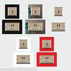 Light Switch, Single, Double Plug Surround Finger Plate - Buy 2 Get 1 FREE