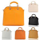 Lady's Faux Leather Tote Bag Stone Pattern Shoulder Bags Large/Small Size BP1097