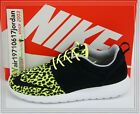 Nike NSW RosheRun FB Leopard Volt Black 580573-701 US 8~12 rushe run yeezy QS