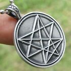 ORDER OF NINE 9 ANGLES ONA ONAS O9A Sinister Occult Satanic Devil pewter pendant