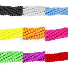 One Strand Candy Colors Matte Frosted Glass Bead Round Spacer Beads 4mm-12mm