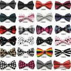 Fashionable Bow Tie Lattice Colorful Stars Circle Dot Ties High Quality Hot Sale