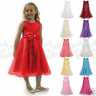 FLOWER GIRL DRESS Bridesmaid Dress GIRLS FORMAL OCCASION DRESS Christening 2-13