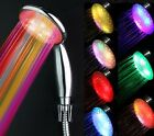 Romantic LED 7 Colors Changing Water Bath Shower Head Bothroom Shower Nozzle