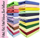 Plain Polycotton Bed Sheet Fitted Valance Flat Base Valance Sheets Clearance
