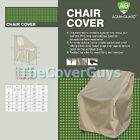 AquaGuard Outdoor Furniture Chair Cover (Small to Large)