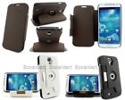 Wallet Rotate StandHolder PU Leather Case F Samsung Galaxy S4 SIV S 4 IV i9500