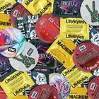 Large Condom XL Durex Trojan Magnum Lifestyles Sampler Pack - Choose Quantity