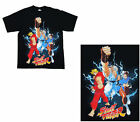 Streetfighter - Trio Black Male T-Shirt - Choose Your Size - Brand New