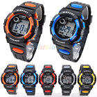 Rubber Sport Style Wristwatch Digital LED Quartz Alarm Day Date Wrist Watch B41U