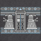 New Womens T Shirt -  Knitted Jumper Style T Shirt - Dr Who