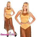 Indian Princess Costumes AU Pocahontas Native Fancy Dress Wild West Full Outfit