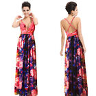 Ever Pretty Ladies Printed Long Evening Summer Beach Dress Party Prom Gown 09324