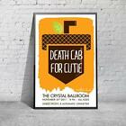 Death Cab For Cutie Gig Concert Portland Poster / Print / Picture A3 A4 Size