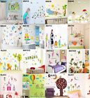Kids Baby Nursery Room Removable Home Decor Art Mural Vinyl Wall Sticker Decal