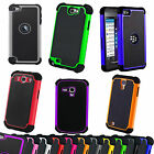 Shock Proof Heavy Duty Dual Layer Case Cover For Apple Samsung Galaxy S5 Note 3