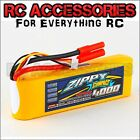 4000mAh LiPo battery Lithium compact Battery Pack 11.1v 3s Cell 40C 50C  RC Car