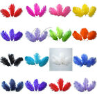 """100PCS Natural Ostrich Feathers approx 15-20cm/6-8"""" Wedding Party Xmas Decor"""