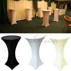 5 Lycra Stretch Cocktail Poseur Dry Bar Spandex Table Cover Cloth Wedding Event