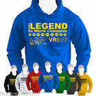 VALENTINO ROSSI The Legend HOODIE Champion Yamaha The Doctor 46 Moto GP hoody