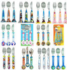 Kids Character Cutlery For Boys And Girls Peppa Pig Moshi Monsters Inc Toy Story