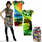 Girls Dress Bodycon Dress Stretch Midi Dress Kids Animal Print Age 7-13Y NEW