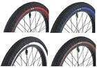 Savage Freestyle 20 x 2.0 BMX Bike / Cycle Ramp Tyres Coloured Sidewall