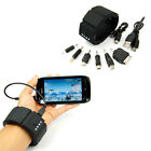 Wrist Band Gadget External Power Bank USB Battery Charger For iPhone PSP Android