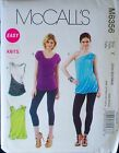 McCall's 6356 Tops Pattern with Multi Size Options