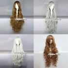 Cosplay Lolita Long Curly Stylish Girls Hallowmas Party Hair Wig For 5 Colors