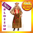 C875FN Viking Queen Warrior Barbarian Fancy Dress Costume Halloween Outfit
