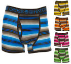 Crosshatch Men's 'Logic' Striped Boxer Shorts Boxers