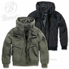 BRANDIT VINTAGE BRONX JACKET MILITARY BOMBER/ FLIGHT STYLE HOODED WINTER COAT