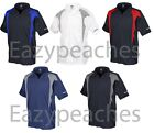 3 REEBOK GOLF NEW Mens Size S-5XL ColorBlock Dri Fit Wicking Polo Sport Shirts