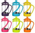 Kenya Cafetiere Coffee Maker 600ml French Press In 6 Funky Sharp Colours