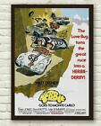 Vintage Herbie Goes To Monte Carlo Movie Film Poster Print Picture A3 A4