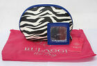 LADIES BULAGGI ZEBRA PRINT ZIP UP MAKE UP BAG WITH MIRROR - IDEAL FOR EVERYDAY