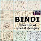INCREDIBLE SELECTION OF BINDI PACKETS OF 70+ CRYSTAL DIAMANTE INDIAN TATTOO