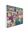 Photo Collage on Canvas Personalise Your Photos plus create a Retro Glow Effect
